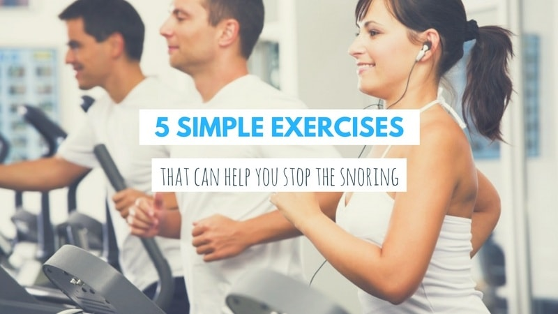 Exercises to Stop Snoring