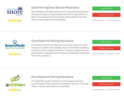Best Anti-Snoring & Sleep Apnea Mouthpieces