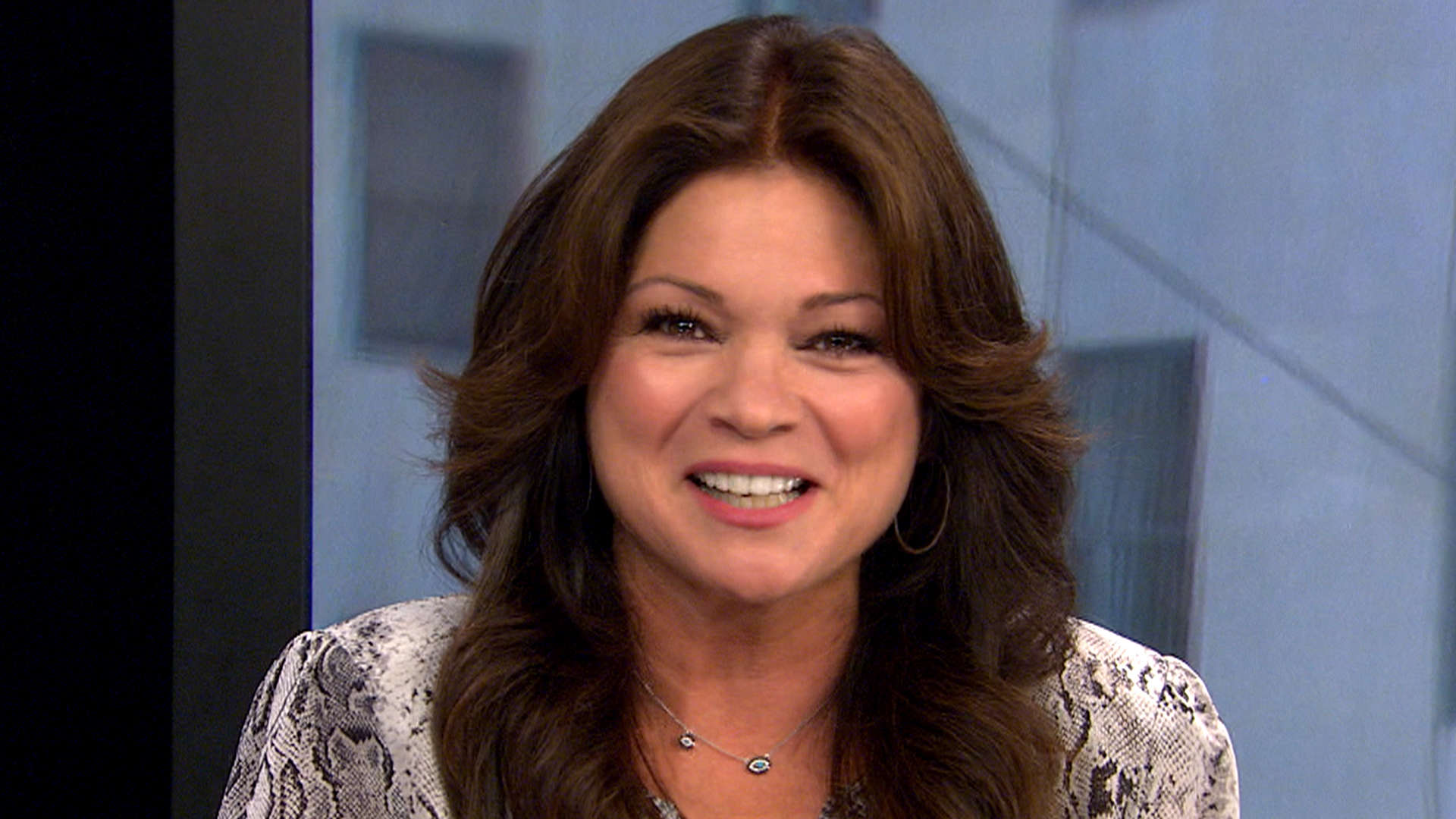 Valerie Bertinelli is a snorer