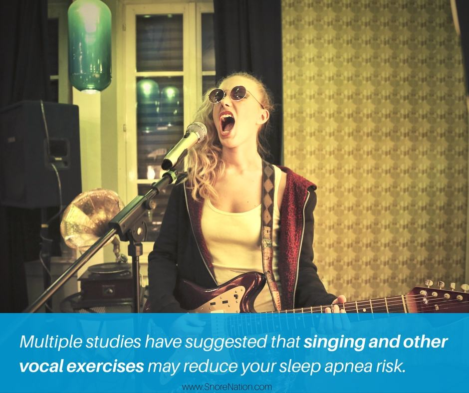 Singing may reduce your sleep apnea risk