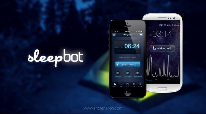 SleepBot – iPhone App