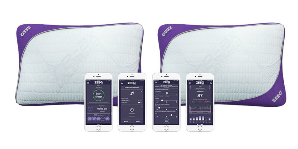 ZEEQ Comfort Pillow Mobile Phone App