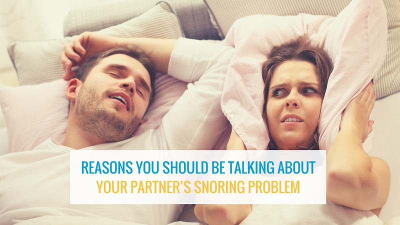 Talk To Your Partner About Snoring