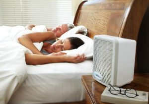 using salinplus salt therapy during sleep