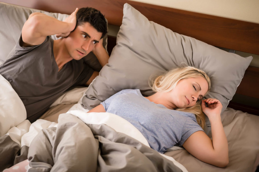 woman-snoring-in-bed